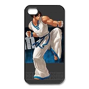 iphone4 4s Black phone case King of Fighters Kim Kaphwan KOF3693281
