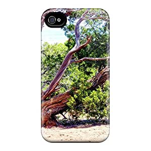 MeSusges Case Cover For Iphone 4/4s - Retailer Packaging Juniper In The Desert Protective Case