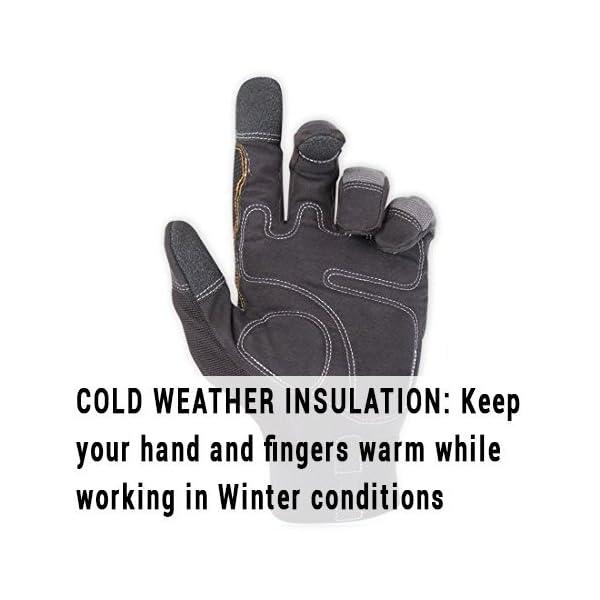 CLC 125L Handyman Flex Grip Work Gloves, Shrink Resistant, Improved Dexterity, Tough, Stretchable, Excellent Grip, 3… 4