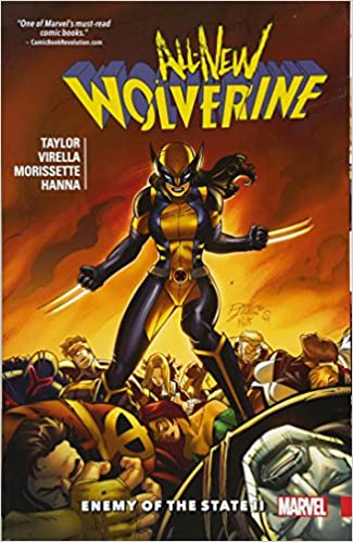 Image result for comics all new wolverine