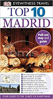 """""""""""PORTABLE"""""""" Top 10 Madrid (Eyewitness Top 10 Travel Guides). cultural Videos Sistema color forth"""