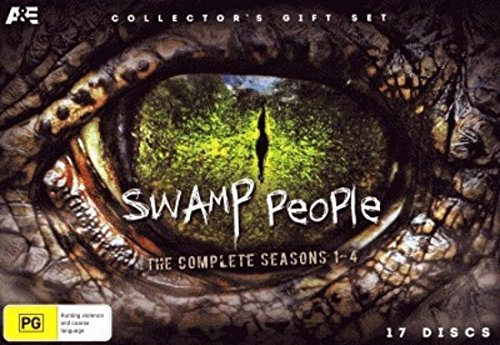 Swamp People - Complete Seasons 1-4 (Collector's Gift Set) - 17-DVD Box Set ( Swamp People - Seasons One to Four (70 Episodes) ) [ NON-USA FORMAT, PAL, Reg.0 Import - Australia ]