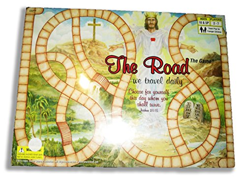 The Road The Game We Travel Daily (Jesus board game) by OSP