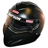 Simpson 6297148 Black Diamondback Helmet