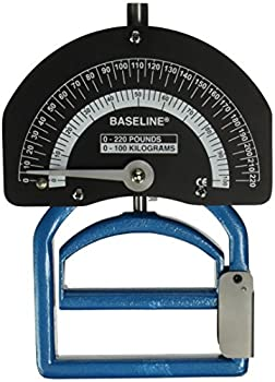 Baseline 12-0281 Smedley Spring Dynamometer, 220 lbs Capacity