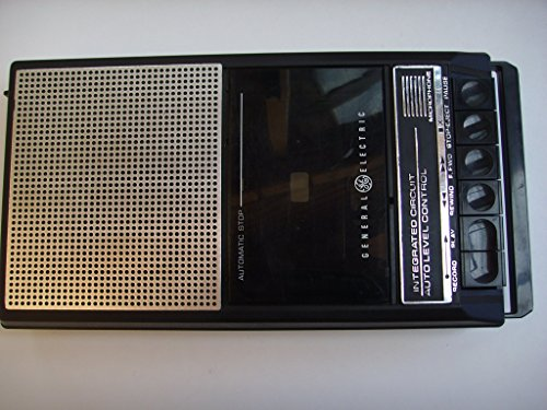 5105 Battery - GE General Electric Cassette Tape Recorder 3-5015D, Uses Batteries Only