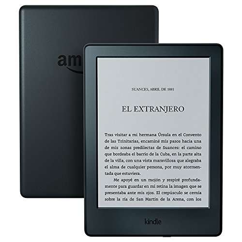Nuevo E-reader Kindle, pantalla táctil antirreflejos de 6'' (15,2 cm), Wi-Fi (Negro)