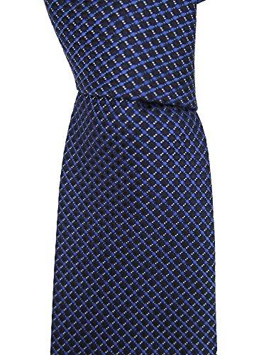 canali-blue-geometric-print-neck-tie
