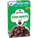 Girl Scouts Cereal, Thin Mint, 18.5 Ounce