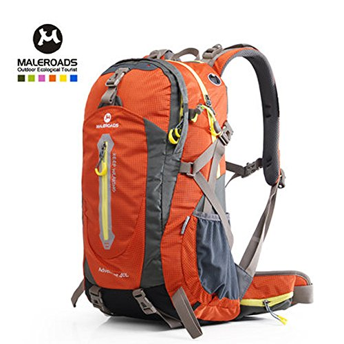 40L NEW High-Capacity Nylon Unisex Outdoor Climbing Bag Shoulder Bag Outdoor Hiking Bag Backpack by Maleroads