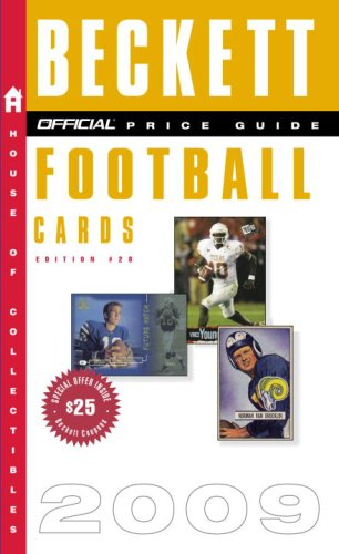 The Official Beckett Price Guide to Football Cards 2009, Edition #28 (Official Price Guide to Football Cards (Beckett))