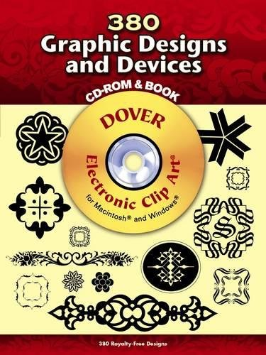 380 Graphic Designs and Devices (Dover Electronic Clip Art) (CD-ROM and Book)