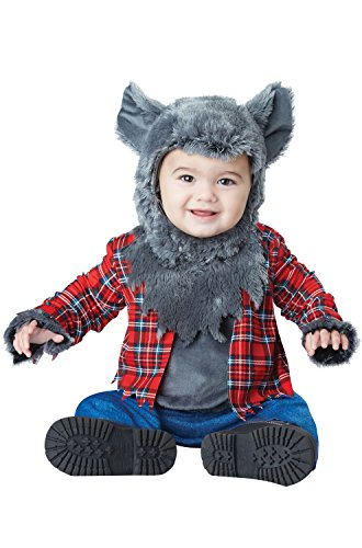 California Costumes Baby Boys' Wittle Werewolf Infant, Multi, 18 to 24 Months (Little Wolf Costume)