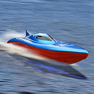 RC Killer Whale Electric Dual Motor Remote Control Speed Boat (Color May Vary)