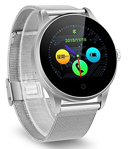 Amazon.com: Smart Watch Heart Rate Monitor Pedometer Fitness ...