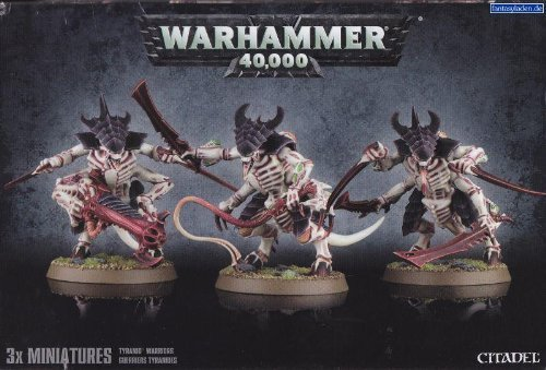 Warhammer-40000-Tyranid-Warriors-with-Prime-upgrade-by-Games-Workshop