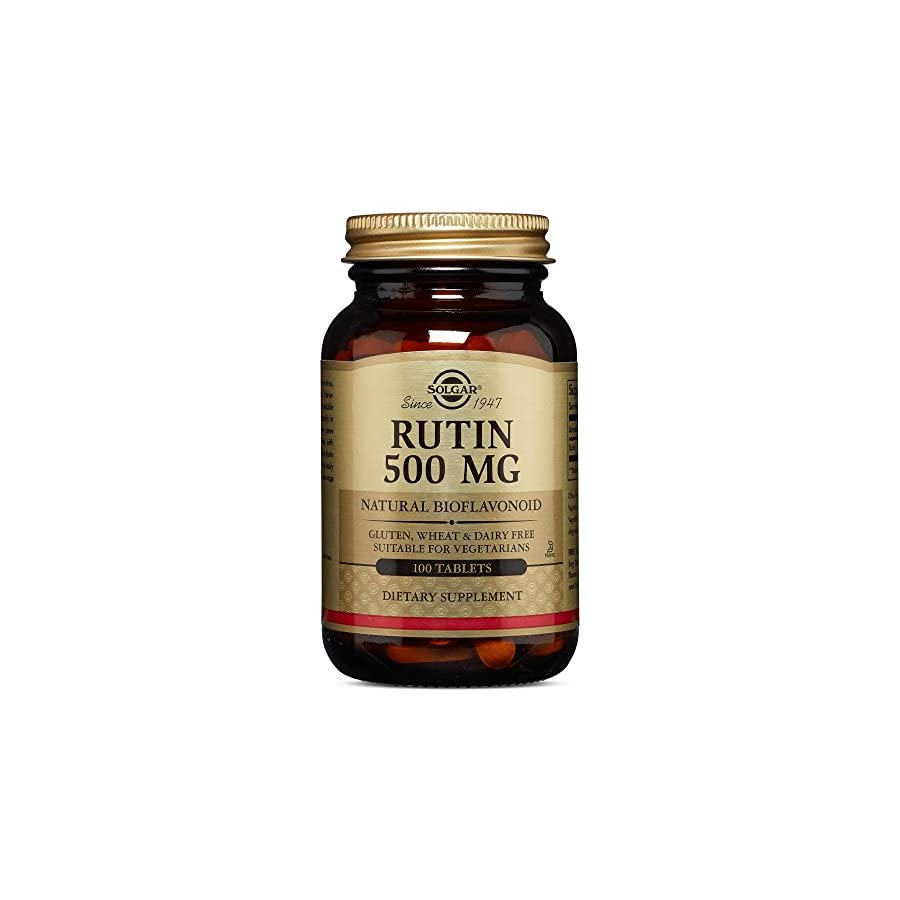 Solgar – Rutin 500 mg, 100 Tablets