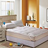 KELE Five-Star Hotel Bedding Thickened Single Double Mattress Foldable Protective pad-A 100x200cm(39x79inch)
