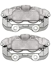AutoShack BC2928PR Pair Set of 2 Rear Driver and Passenger Side Disc Brake Caliper Assembly Replacement for Yukon XL 1500 Savana 1500 Escalade Chevrolet Avalanche 1500 Suburban 1500 Tahoe Express 1500