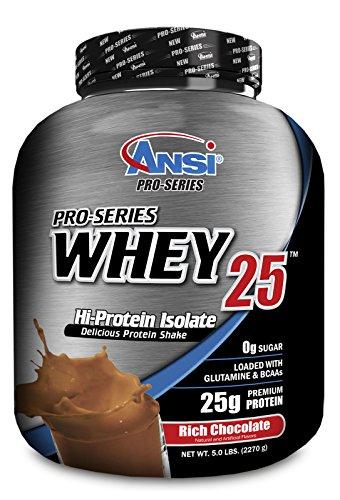 UPC 689570405165, ANSI - Pro-Series Whey Protein Isolate 25, 5lb (2270g) (Chocolate)