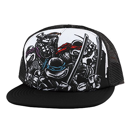Teenage Mutant Ninja Turtles Hat (Teenage Mutant Ninja Turtles Trucker Hat - Comic Book Design)
