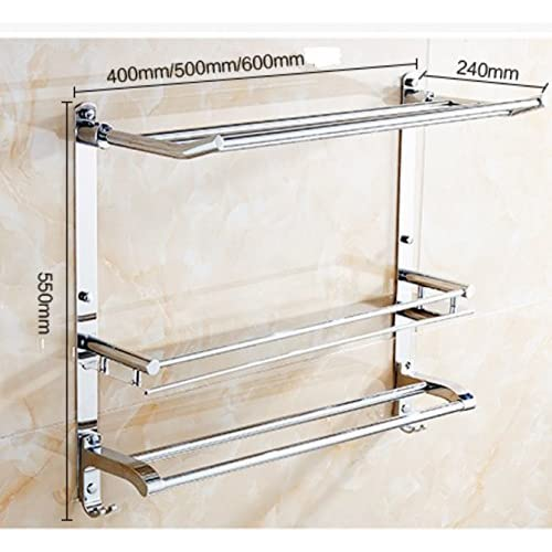 Multifunctional bathroom shelf/Stainless steel Towel rack/shelf /the shelf in the bathroom/Glass Wall-P delicate