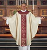 Christian Brands Church Supply YC794 Book Kells Chasuble - Jacquard Neck