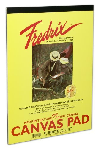 Fredrix Canvas Pad 14X18 by Fredrix ()
