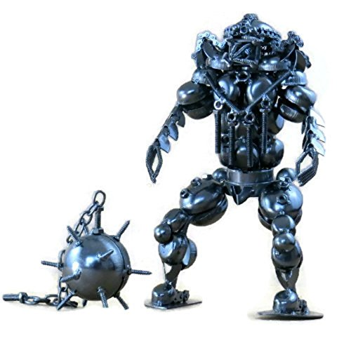 Predator Vs Alien Statue - Handcrafted 12.0 Inch Unique Metal Alien Vs Predator Statue Figure