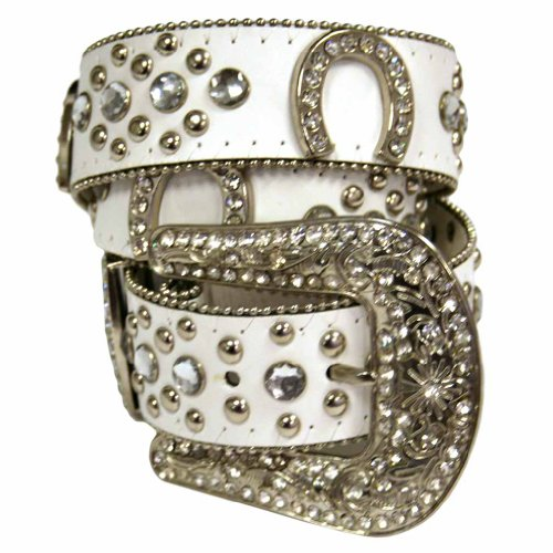 Horseshoe Rhinestone Belt - 2