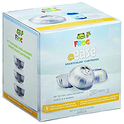 Frog @Ease Replacement SmartChlor Cartridge 3 Pack : Garden & Outdoor