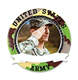 Army Picture Frame Personalized Christmas Ornament