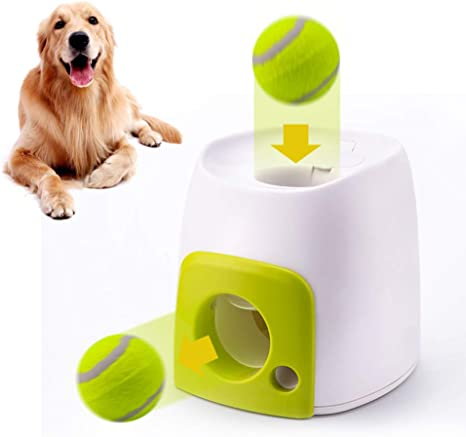 CXJUN - Pelota de Tenis interactiva para Mascotas, máquina de ...
