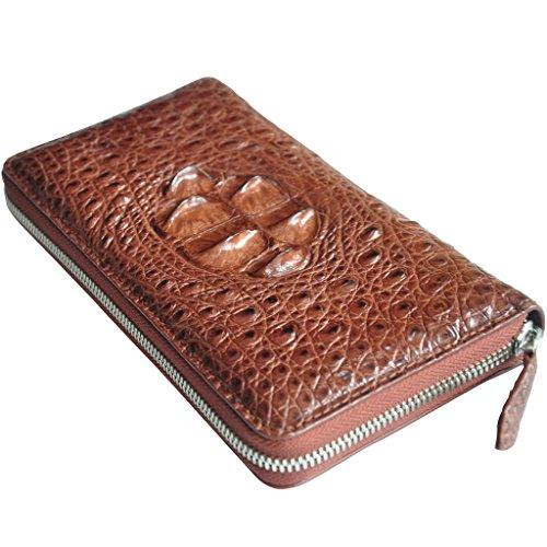 Clutch Leather Bag Designer Wallet Hand Bag Long Crocodile for Men CROCUST Crocodile PUgqwq0x