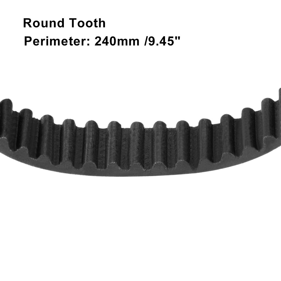 uxcell HTD3M240 Rubber Timing Belt Synchronous Closed Loop Belt Timing Pulley Tools 9.5mm Width