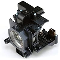 Original Bulb and Generic Housing for Sanyo LP-ZM5000 Replace 610 346 9607, 6103469607, 610-346-9607, POA-LMP136 Projector Lamp