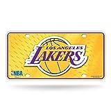 Rico NBA Los Angeles Lakers Metal Tag License Plate