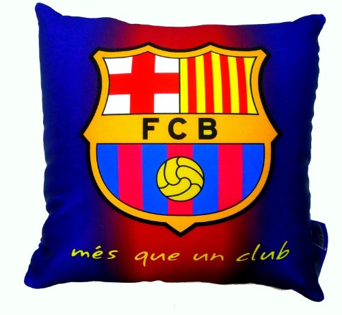 Official Licensed GENUINE FC Barcelona 10x10 Pillow New with Tags /& Barcelona Hologram