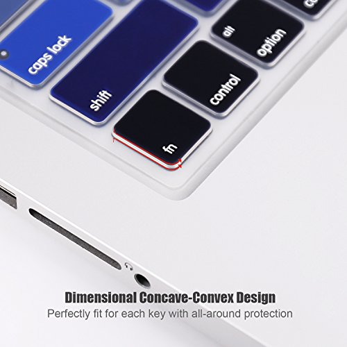 Ultra Thin Keyboard Cover Compatible MacBook Air 13