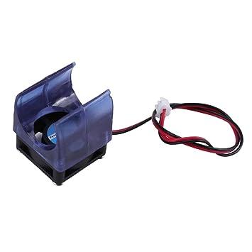 Ventilador Radiador V5 V6 Moldeado por Inyección Azul 12v ...