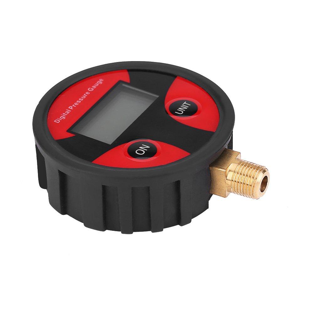 Keenso pneumatico Air manometro tester per auto camion moto 0/ /psi LCD manometro digitale