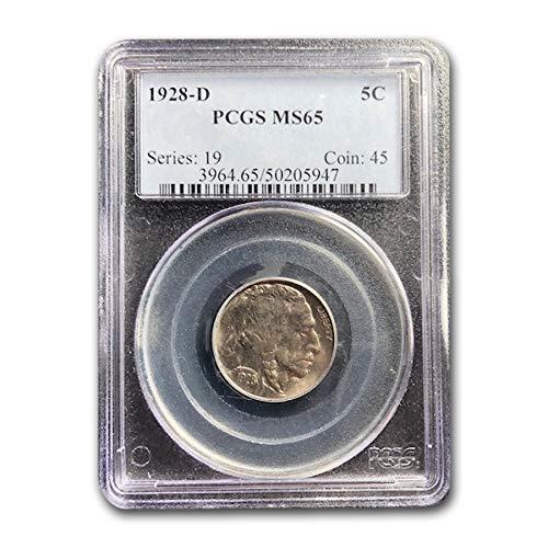 1928 D Buffalo Nickel MS-65 PCGS Nickel MS-65 PCGS