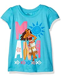 Disney girls Moana Short-sleeved Tee