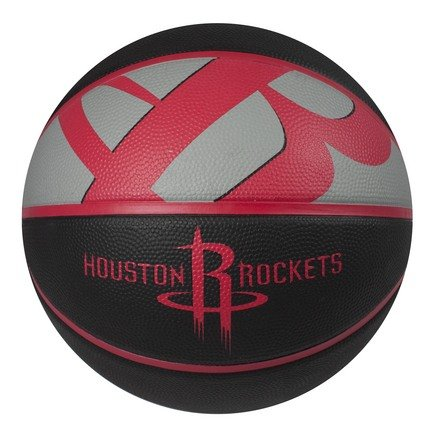 fan products of Spalding NBA Houston Rockets Courtside Rubber Basketball