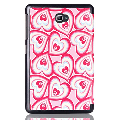 Soft T580 Samsung Tab 10 Cover Galaxy Cover Galxy Samsung Tab Galaxy A A Case Case 1 Galaxy Case 1inch for Samsung A A 10 heart Love window Tab Slim Church Cover Back Tab Back 10 2016 inch 10 1 Folding xqrRZpYwq