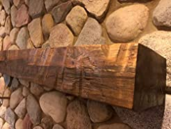 North Shore Logs Timber Mantel - Special...