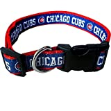 MLB CHICAGO CUBS Dog Collar, Medium