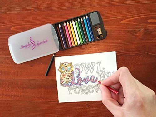 Simply Spoiled Mini Colored Pencil Set