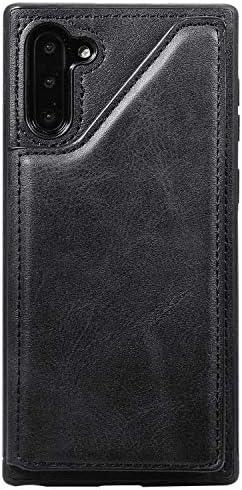 Huawei Mate30 PUレザー ケース, 手帳型 ケース 本革 カバー収納 耐衝撃 ビジネス スマホケース 財布 手帳型ケース Huawei Mate30 レザーケース