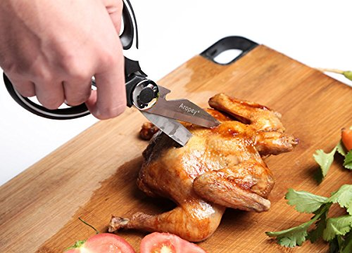 Heavy-Duty-Kitchen-Shears-Ultra-Sharp-Scissors-with-Cover-for-Chicken-Poultry-Fish-Meat-Vegetables-and-Herbs